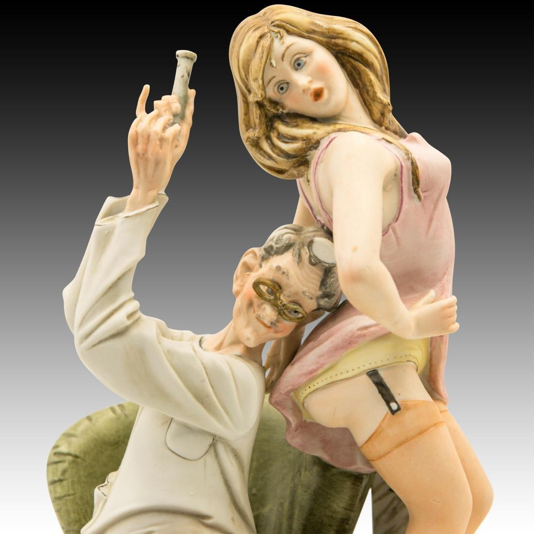 "Capodimonte ""Doctor's Delight"" Comical Figurine - 5"