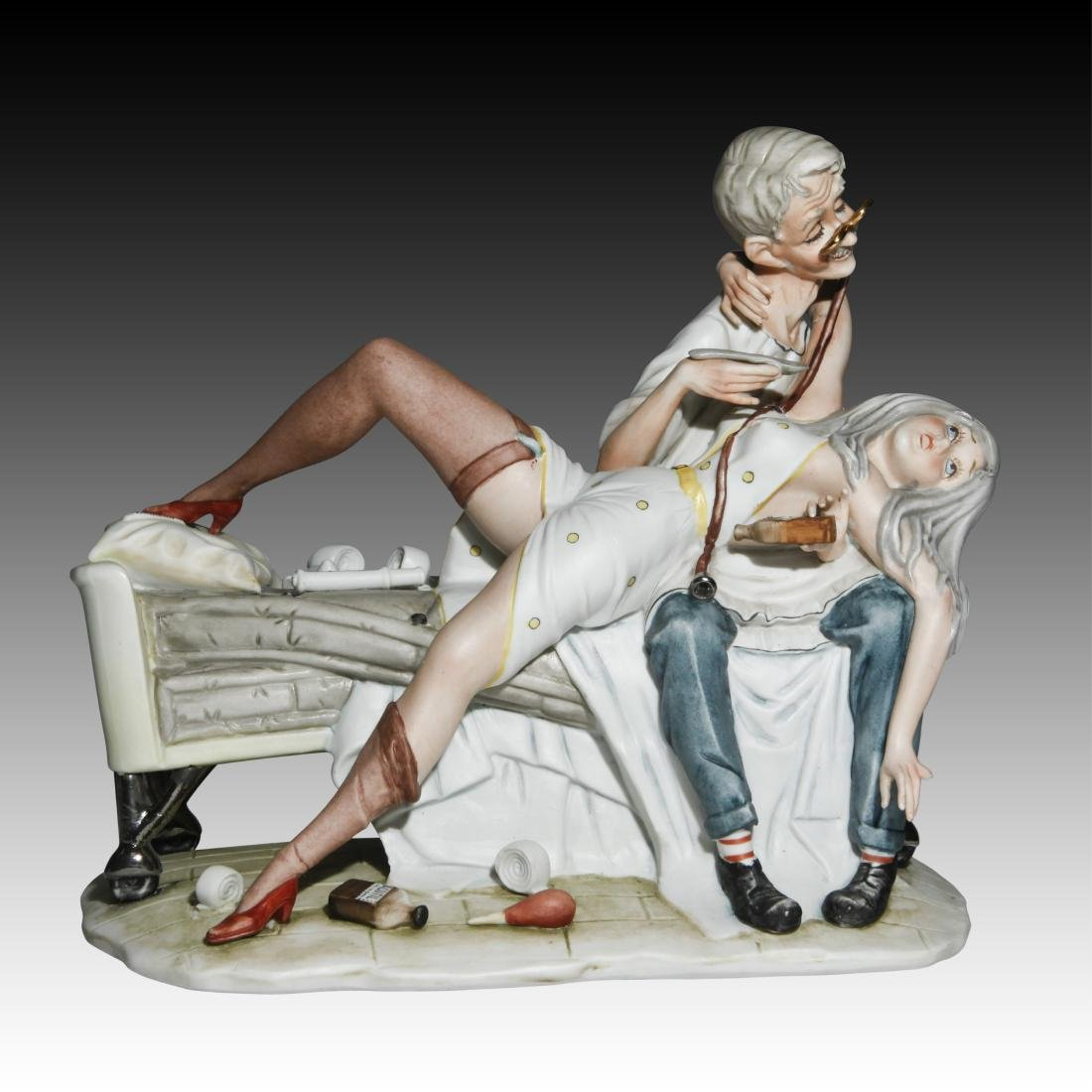 "Capodimonte ""Be Patient Doctor"" Figurine 44/507"