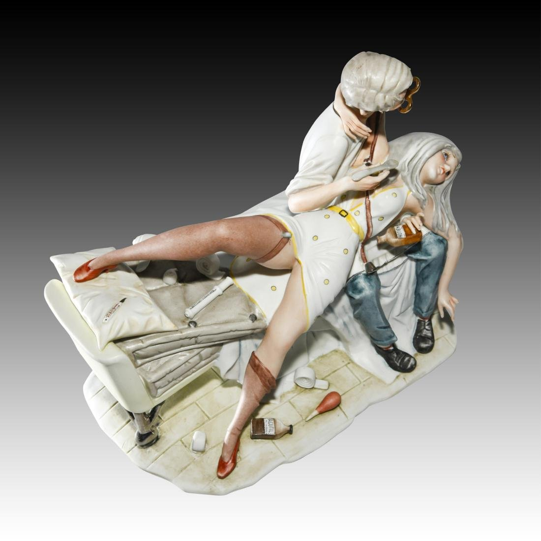 "Capodimonte ""Be Patient Doctor"" Figurine 44/507 - 3"