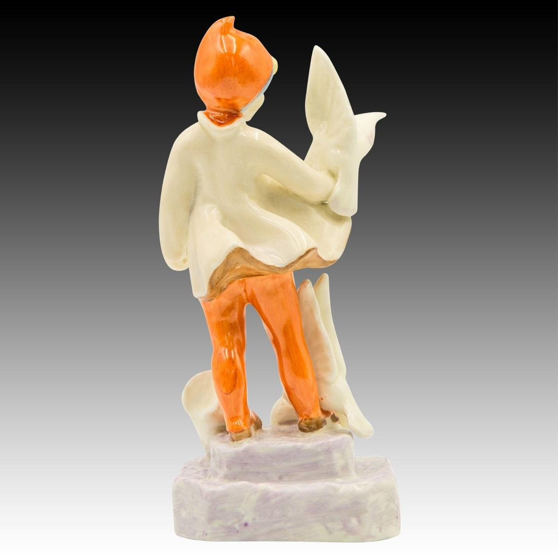 """Royal Worcester Figurine """"November"""" by F. Doughty - 3"""