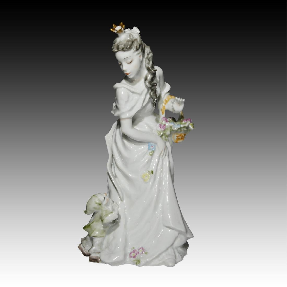 Rosenthal Figurine of Snow White with a Dwarf