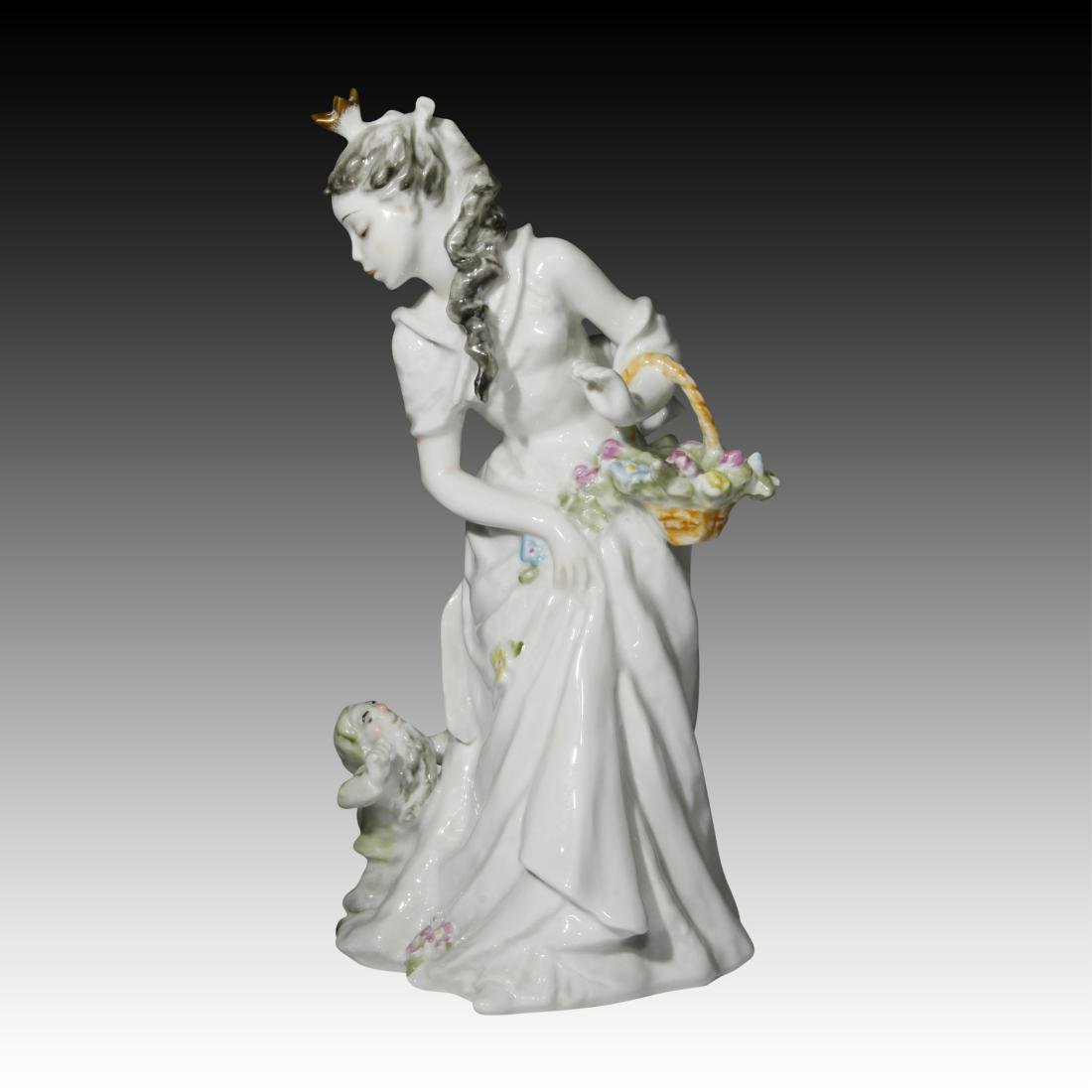Rosenthal Figurine of Snow White with a Dwarf - 2