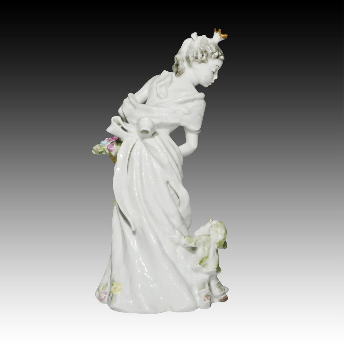 Rosenthal Figurine of Snow White with a Dwarf - 3