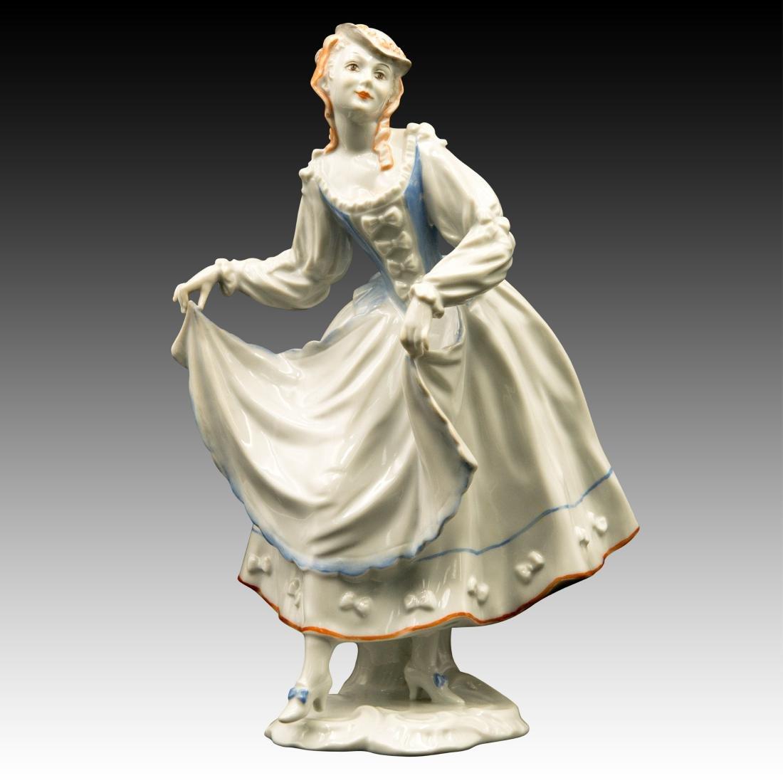 Rosenthal Rococo Lady Dancer Figurine