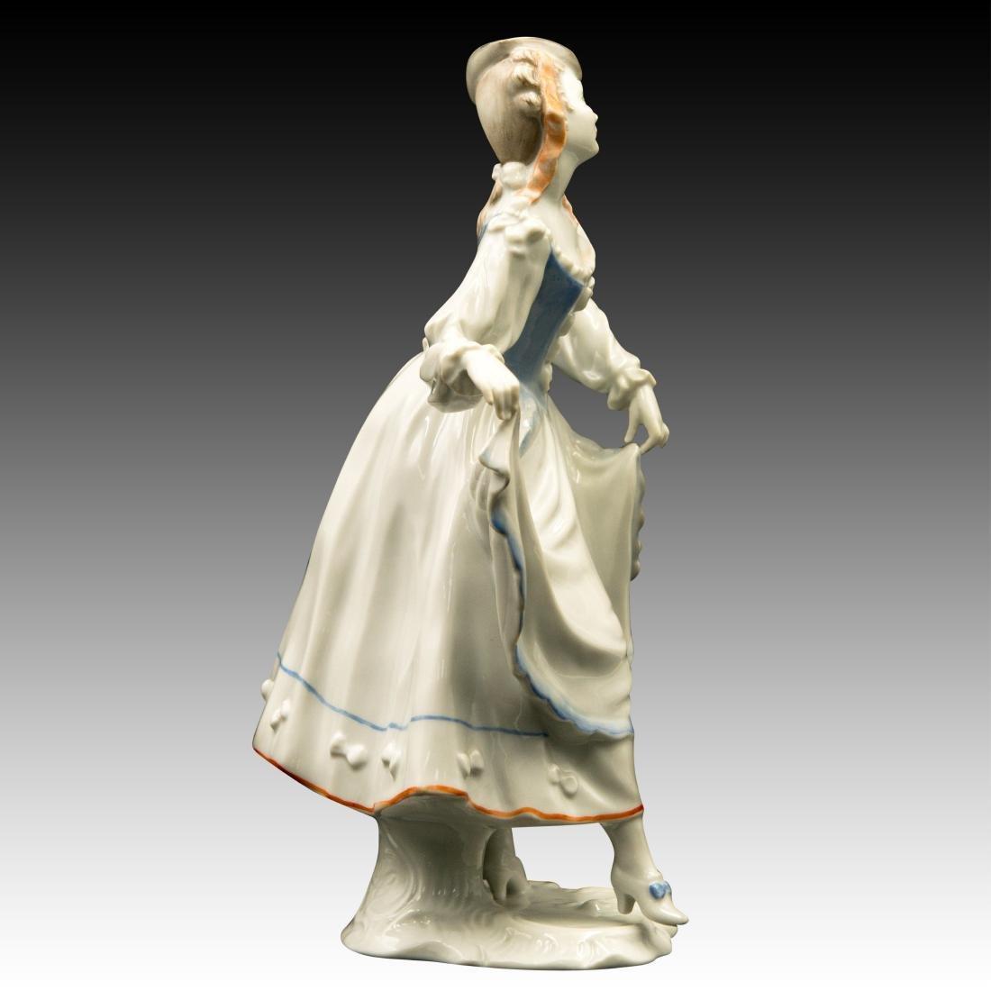 Rosenthal Rococo Lady Dancer Figurine - 2