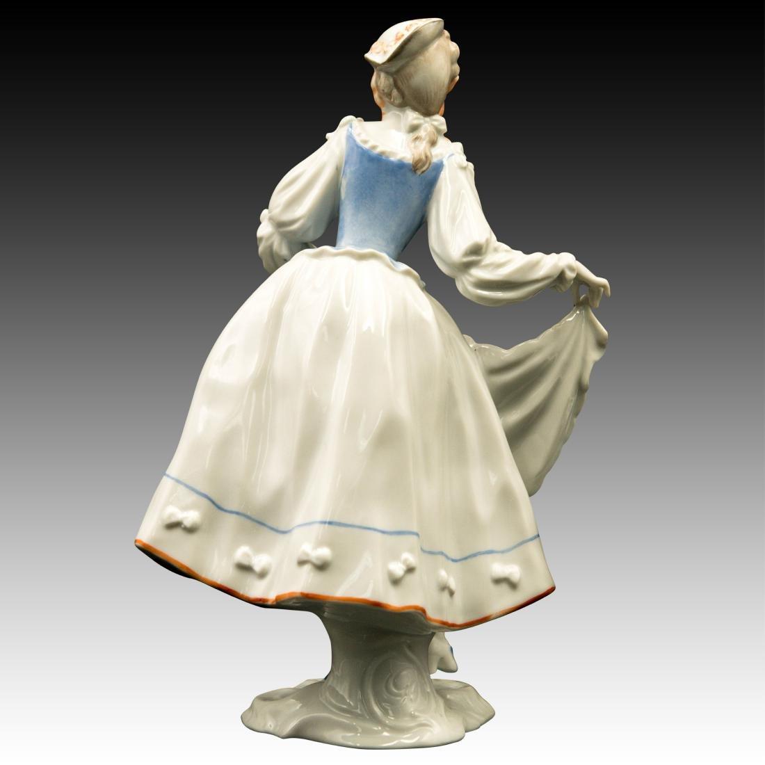 Rosenthal Rococo Lady Dancer Figurine - 3