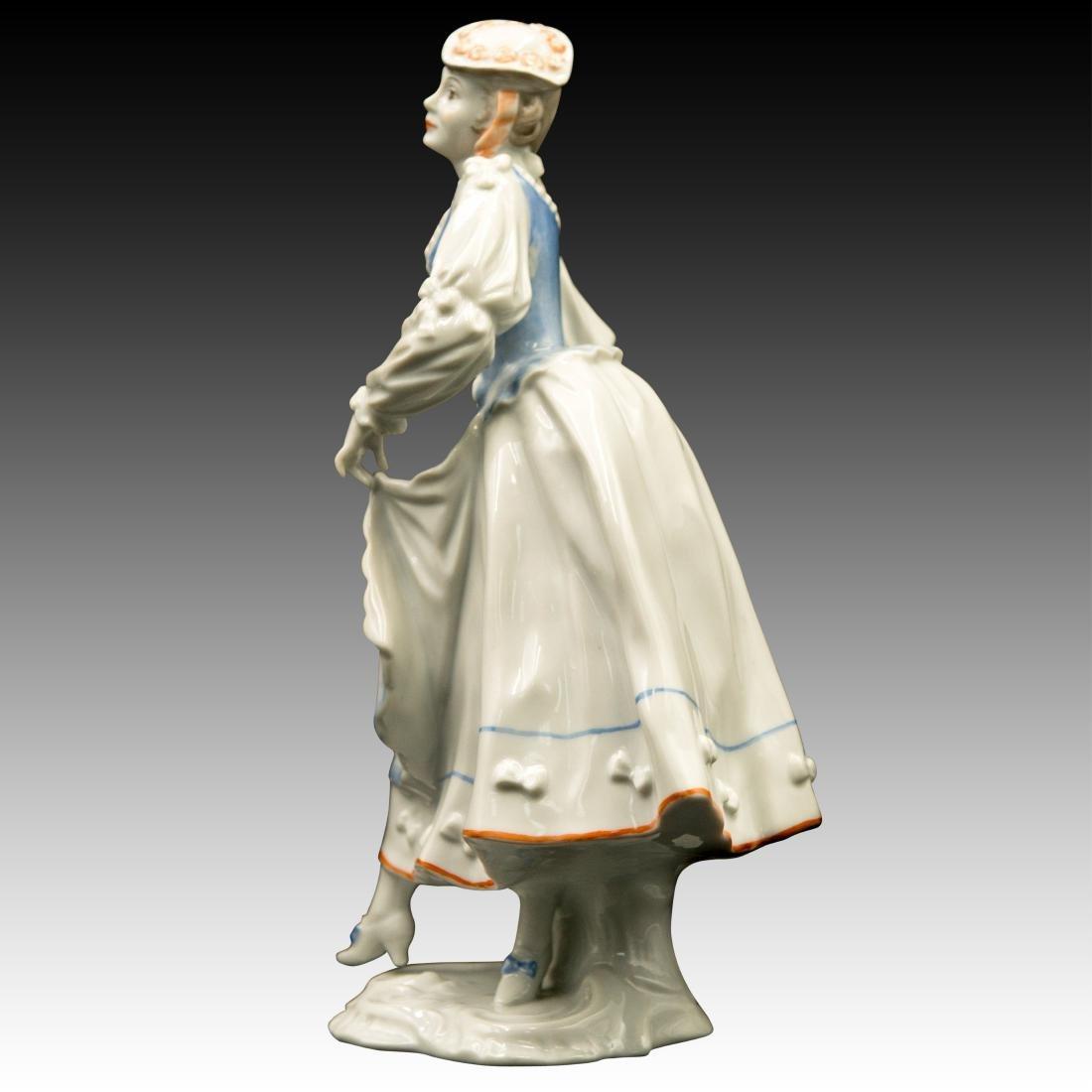 Rosenthal Rococo Lady Dancer Figurine - 4
