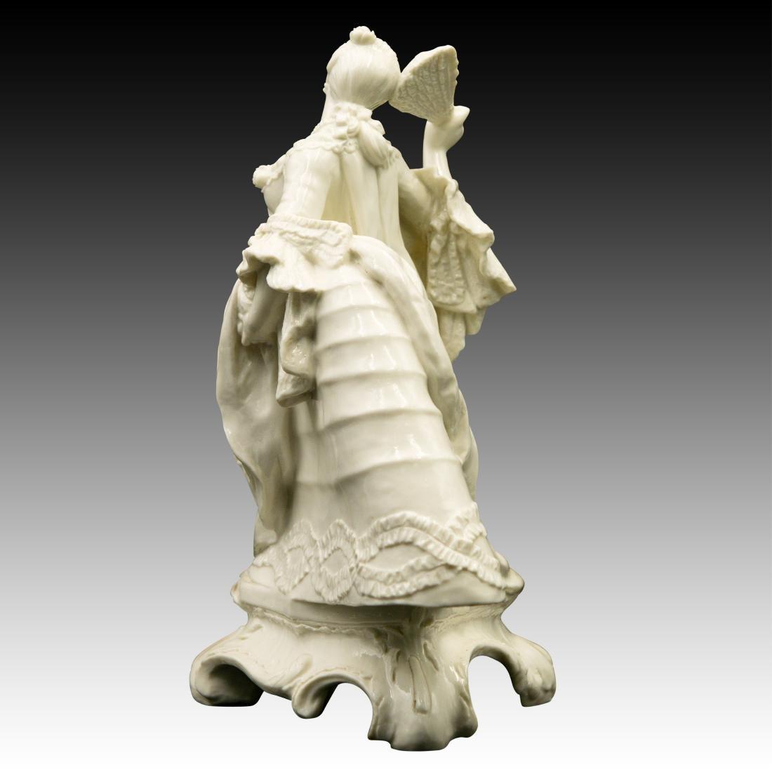 Nymphenburg Leda with a Fan Figurine - 4