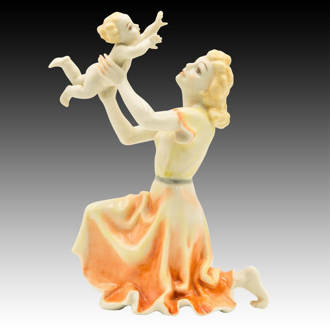 Hutschenreuther Mother and Child Figurine