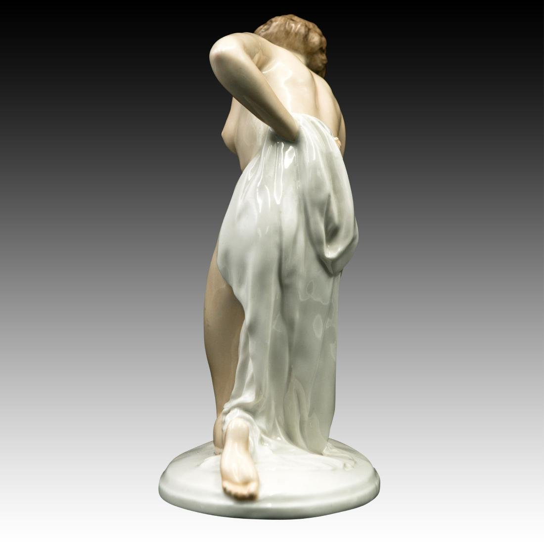 Rosenthal Figurine Female Drying off with a Towel - 4