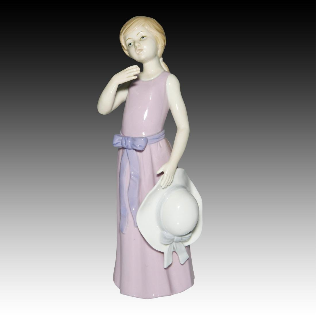 KPM Girl with the Lavender Dress Figurine