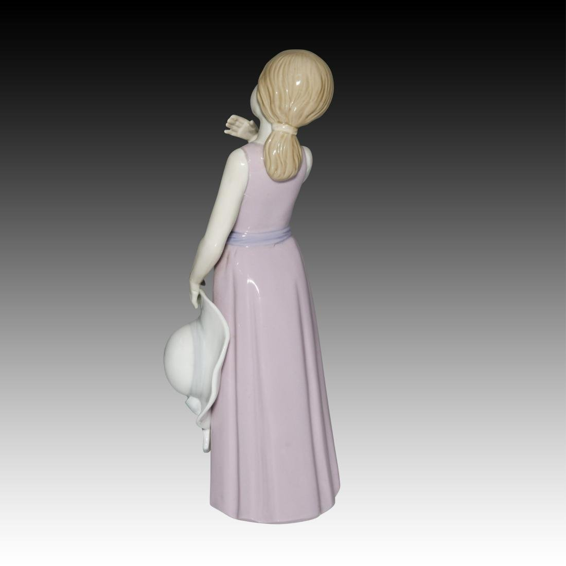 KPM Girl with the Lavender Dress Figurine - 2
