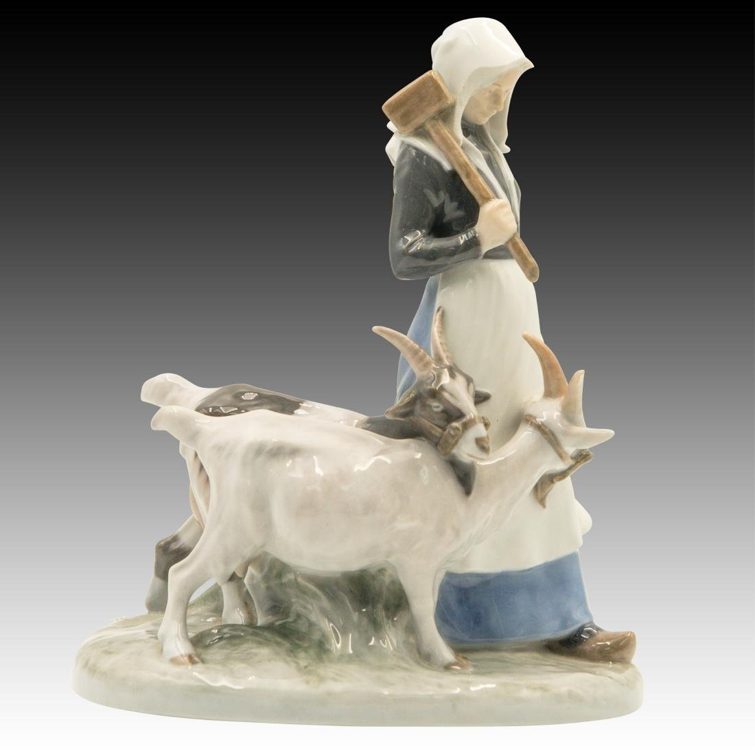 Royal Copenhagen Girl with the Goats Figurine