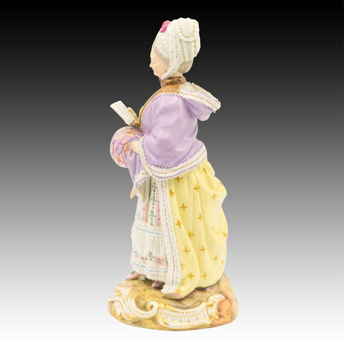 Meissen Lady Reading Figurine - 2