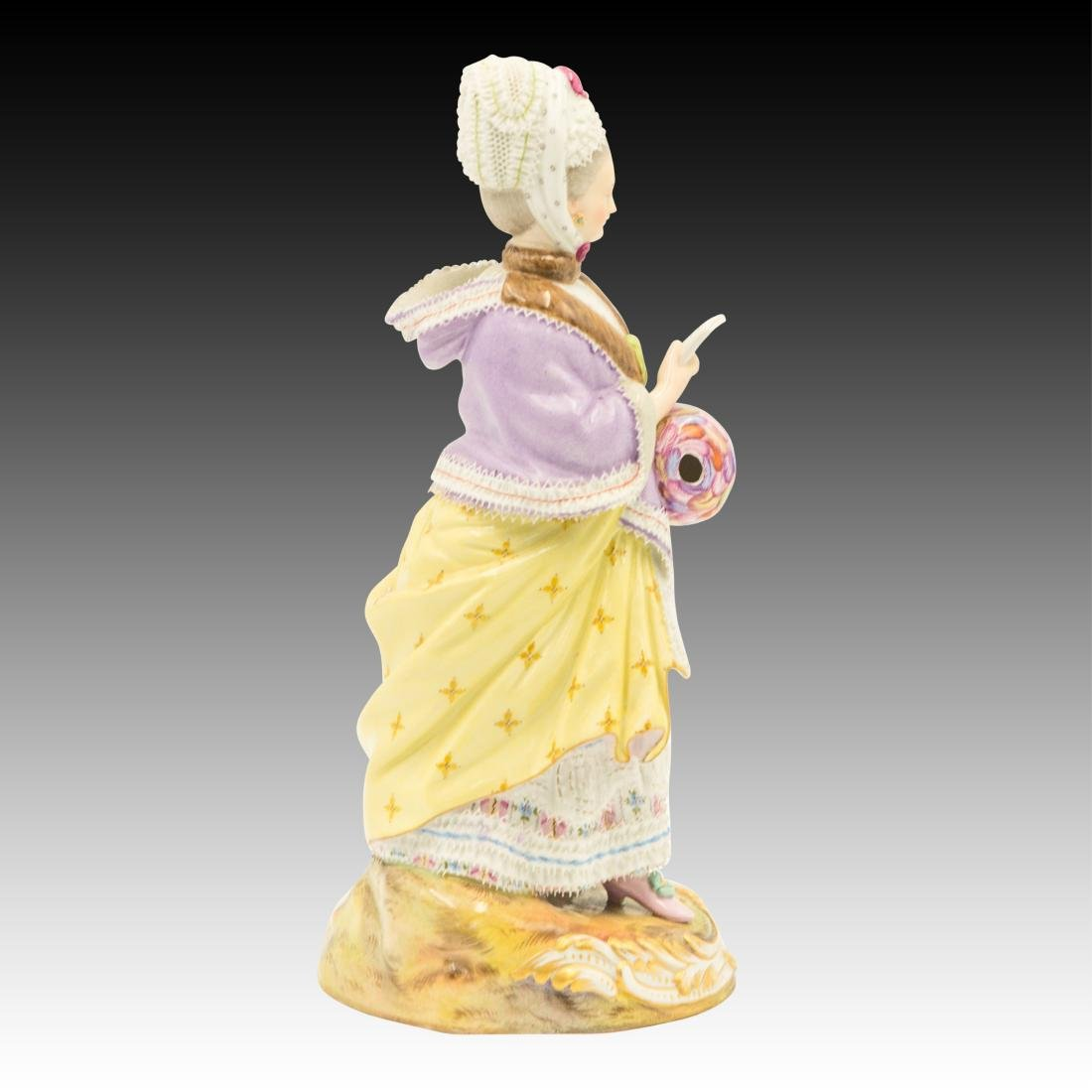 Meissen Lady Reading Figurine - 4