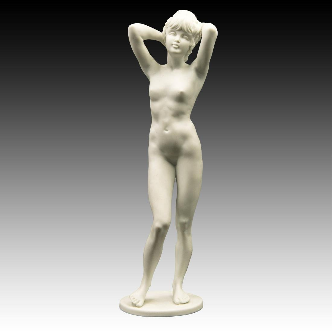 Kaiser Nude Young Girl Bisque Finish Figurine