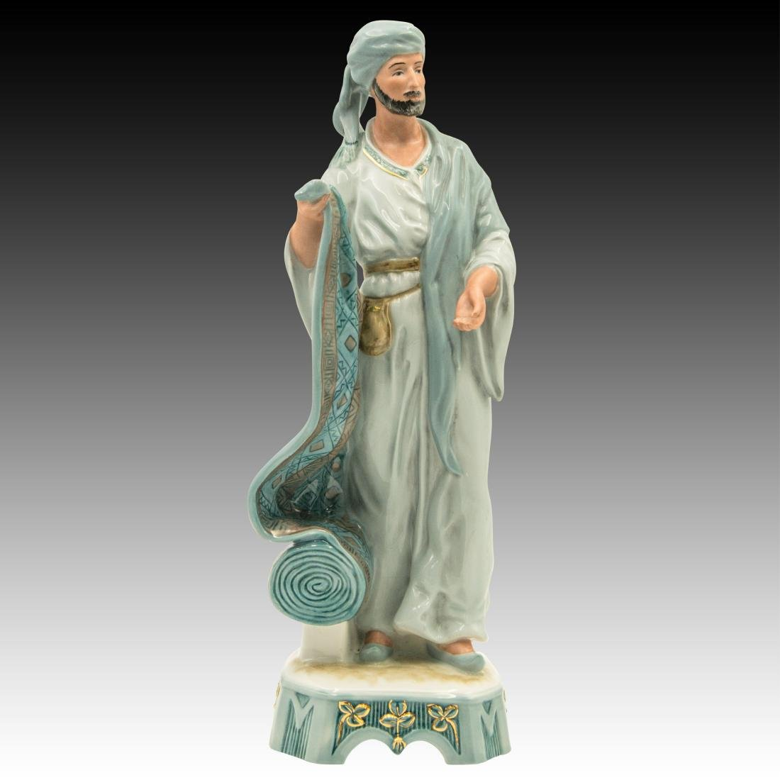 Royal Dux Middle Eastern Street Vendors Figurines - 7