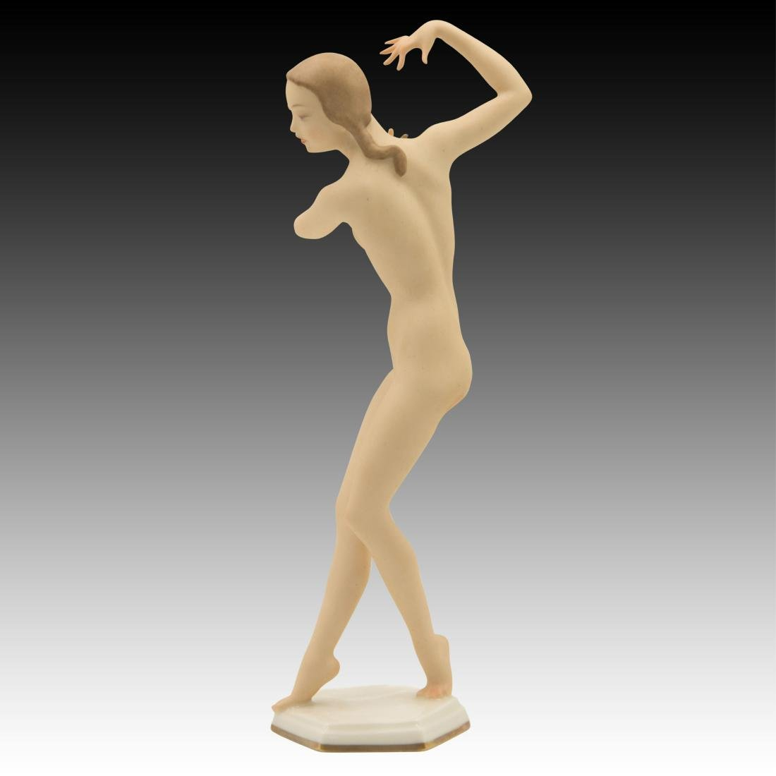 Hutschenreuther Nude Girl Dancing Figurine - 2
