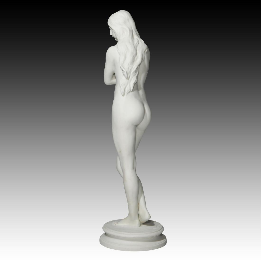Greek Slave Girl in Chains for Auction Figurine - 3