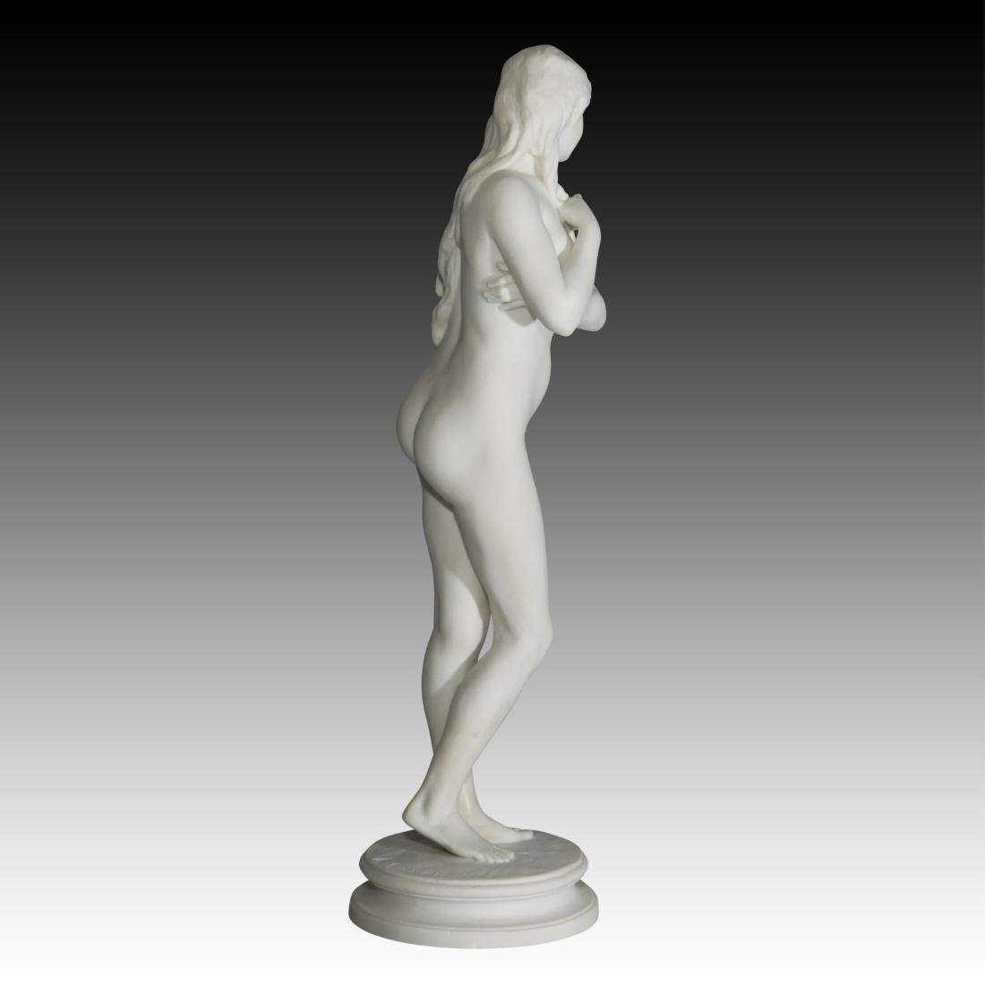Greek Slave Girl in Chains for Auction Figurine - 4