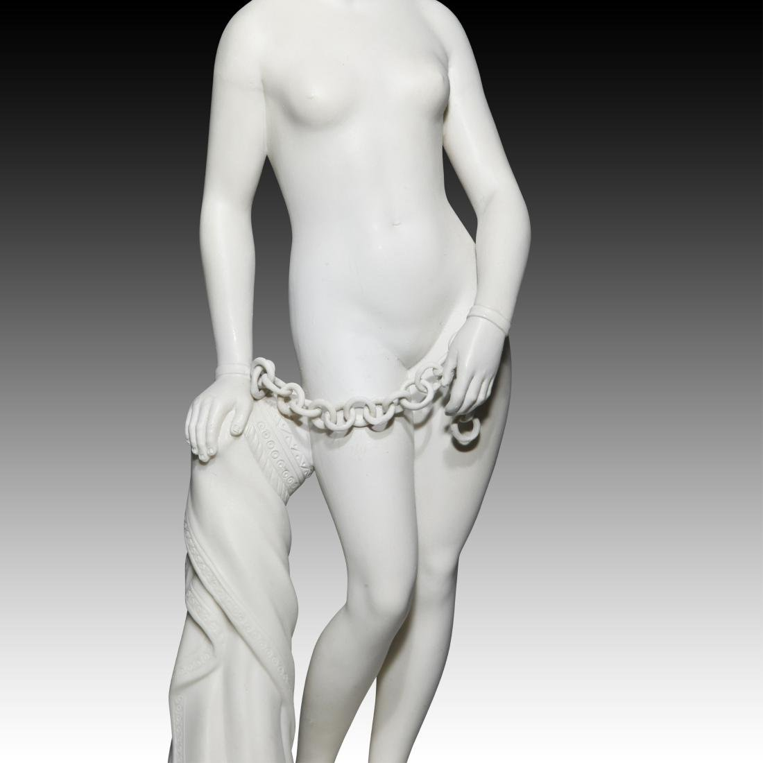 Greek Slave Girl in Chains for Auction Figurine - 5