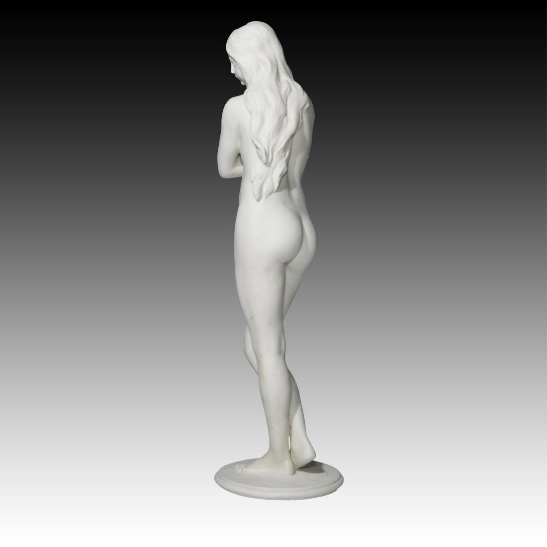 Sevres Young Nude Woman Standing - 2
