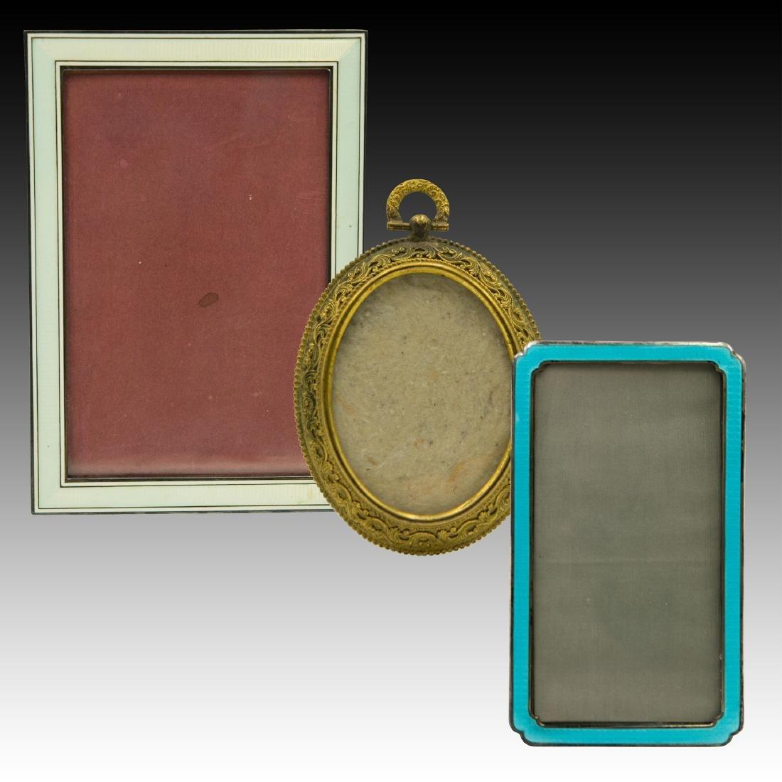 3 Small Vintage Frames