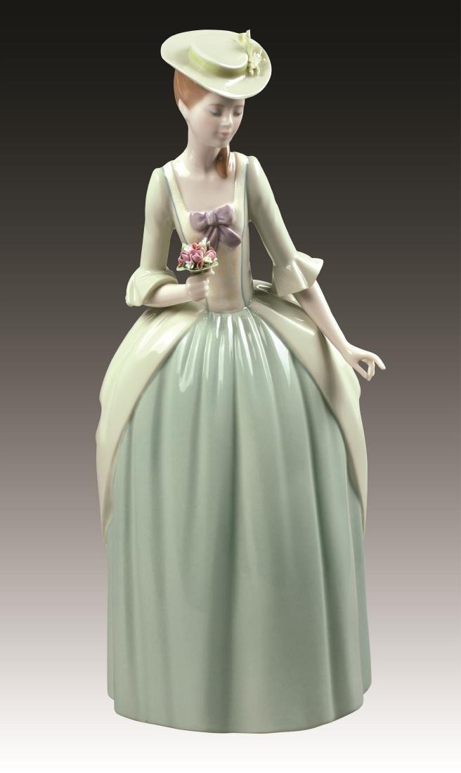 Lladro Floral Scent Figurine 9181