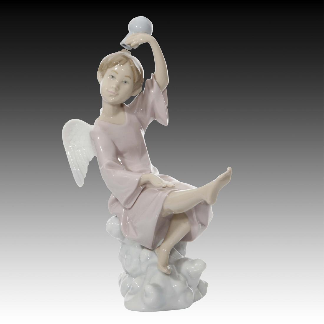 Lladro Summer Angel Figurine 6148 Retired 1997