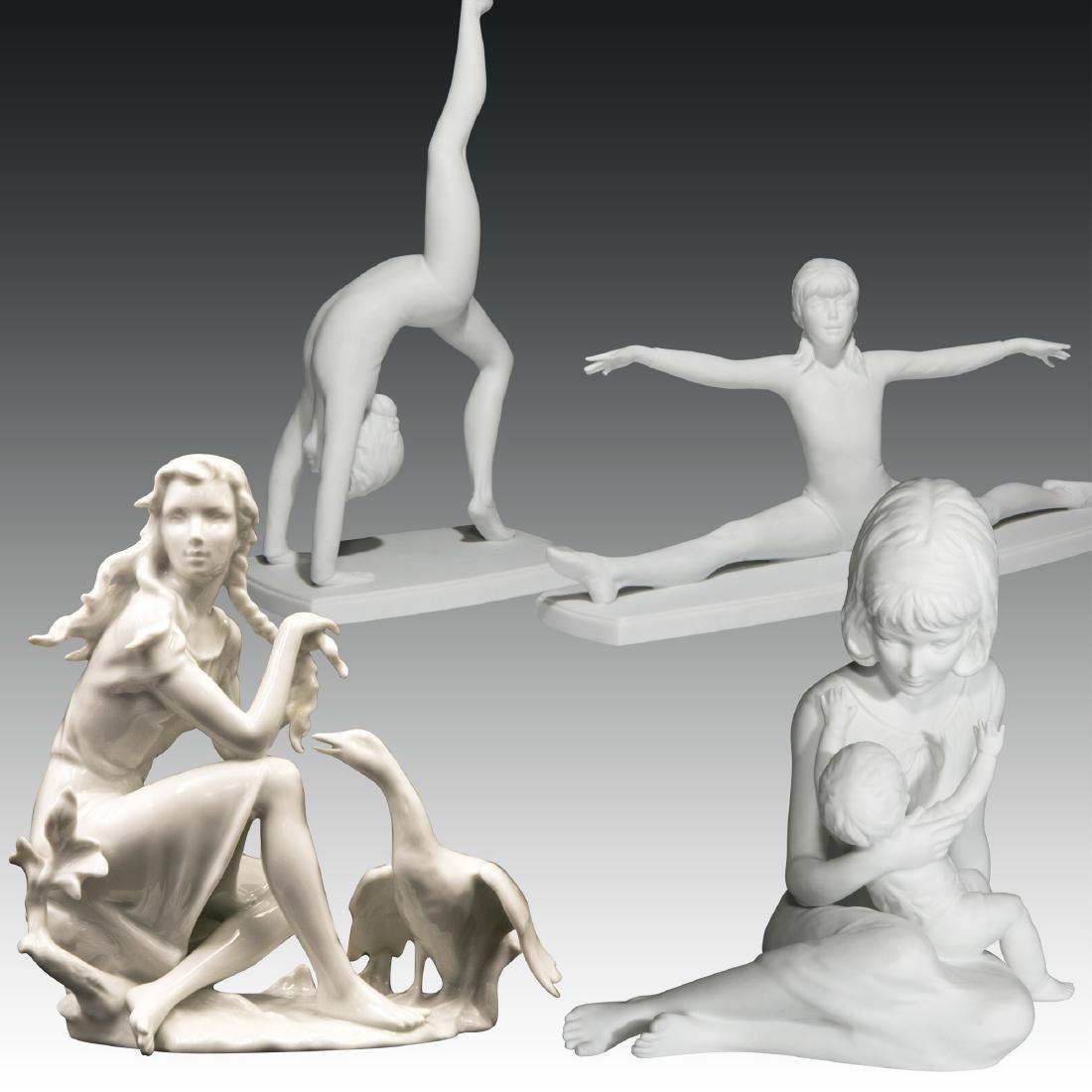 Group of 4 Kaiser & Alka Female Figurines