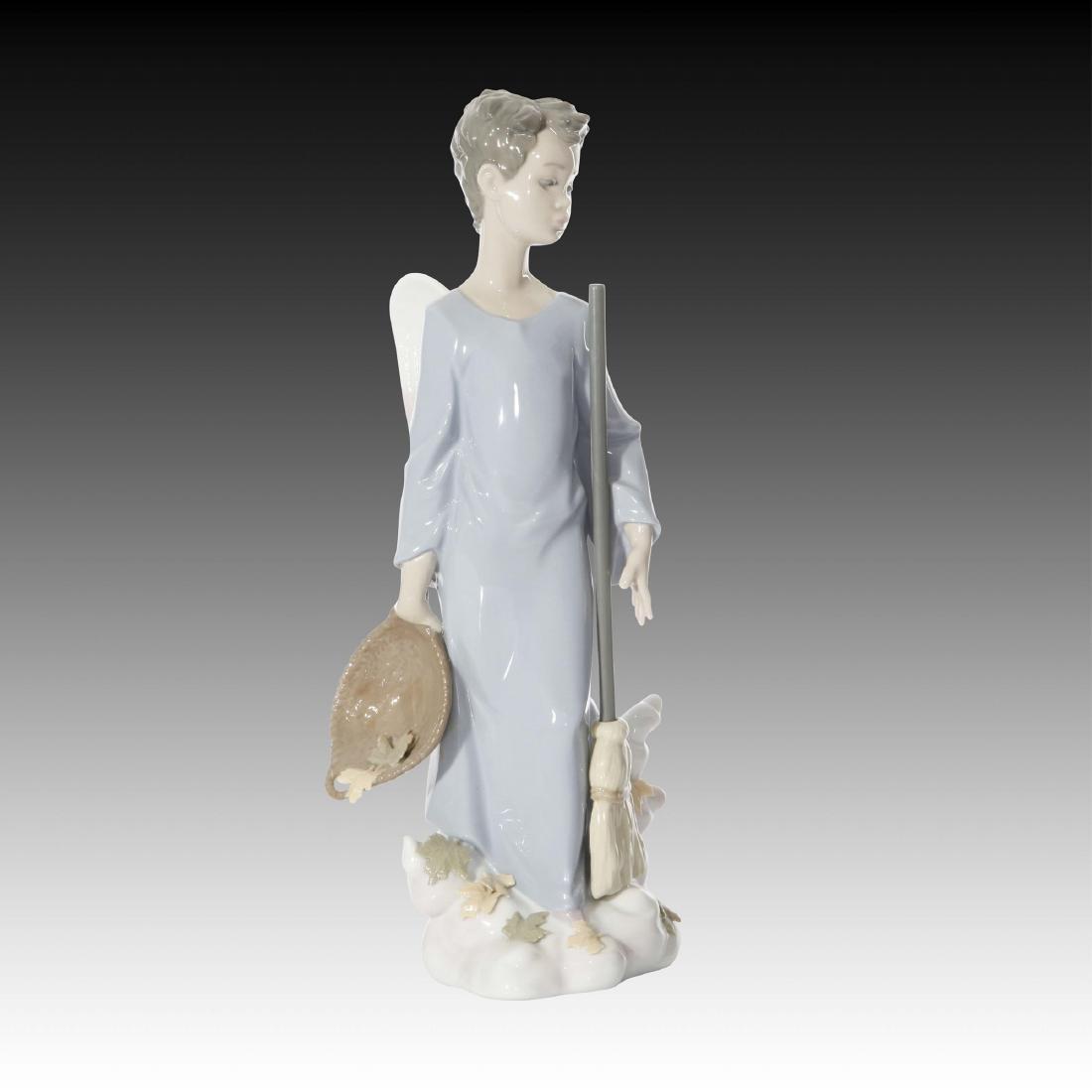 Lladro Fall Angel Figurine 6147 Retired 1997