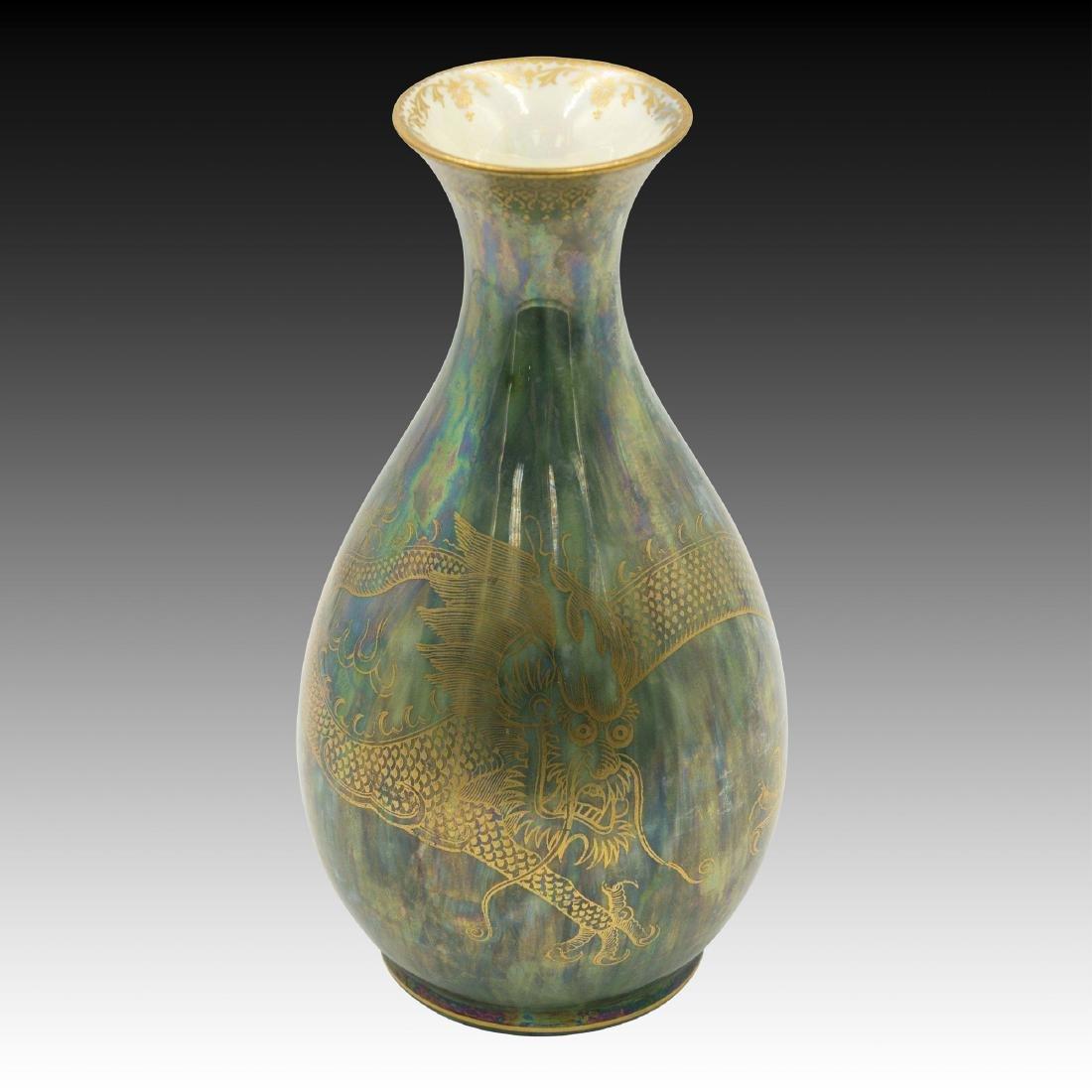 Wedgwood Fairyland Luster Dragon Vase.
