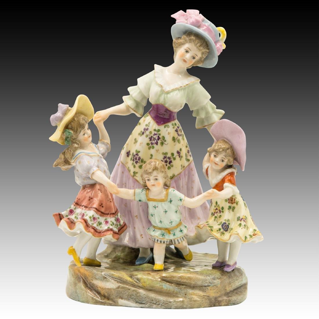 Royal Vienna Porcelain Group Figurine