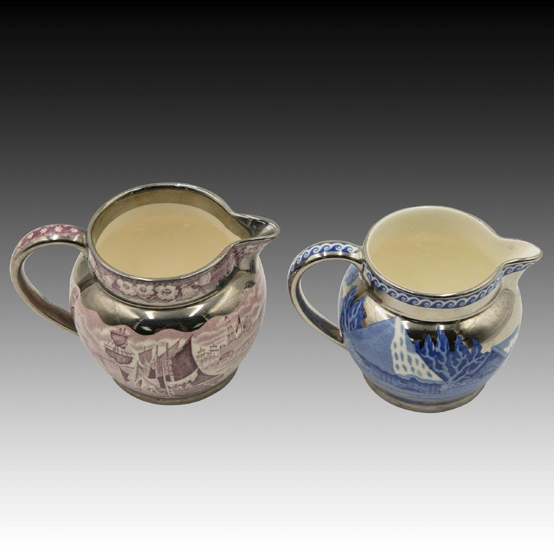 2 Wedgwood & Barlaston Jugs in Lustre