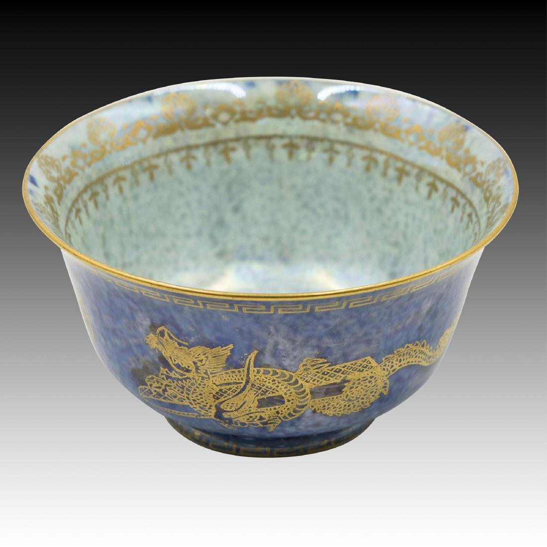 Wedgwood Fairyland Lustre Gold Dragon Bowl