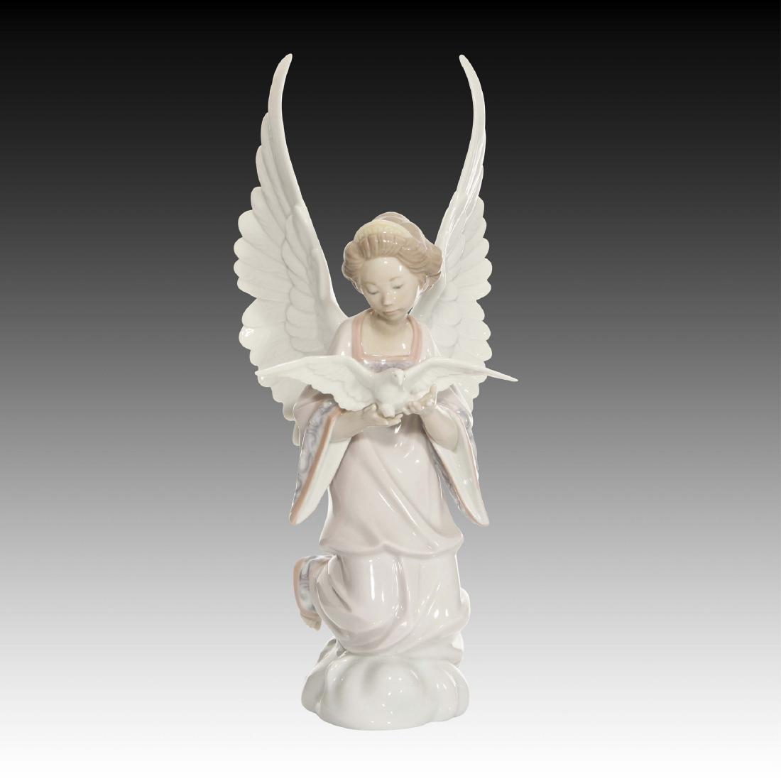 Lladro Angel of Peace Figurine 6131 Retired 2002