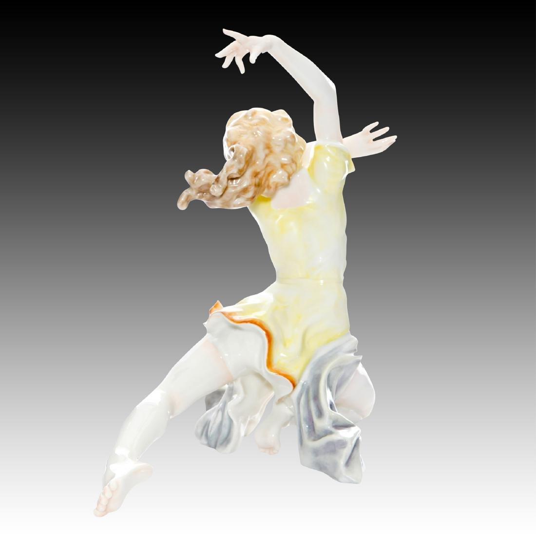 Hutschenreuther Art Deco Dancer Finale Figurine - 2