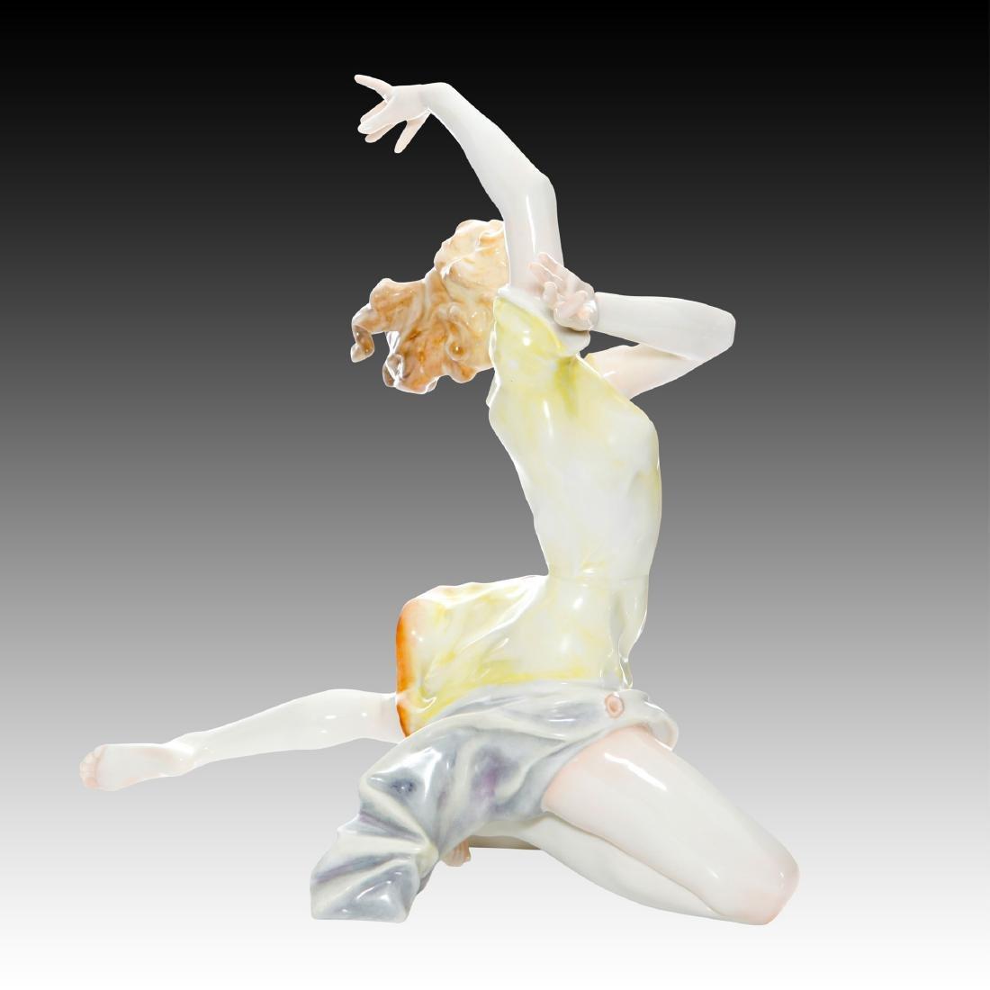 Hutschenreuther Art Deco Dancer Finale Figurine - 3