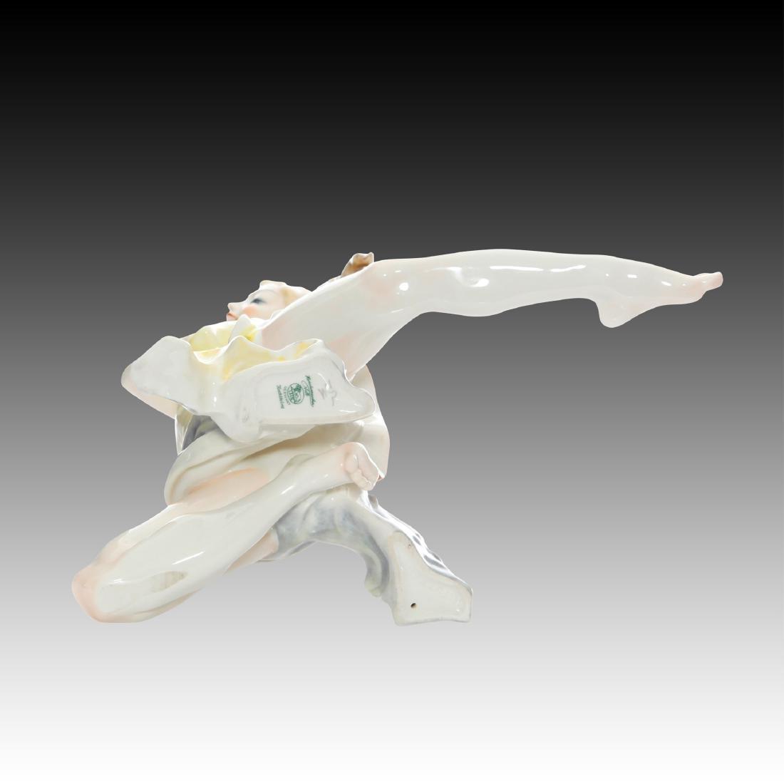Hutschenreuther Art Deco Dancer Finale Figurine - 4