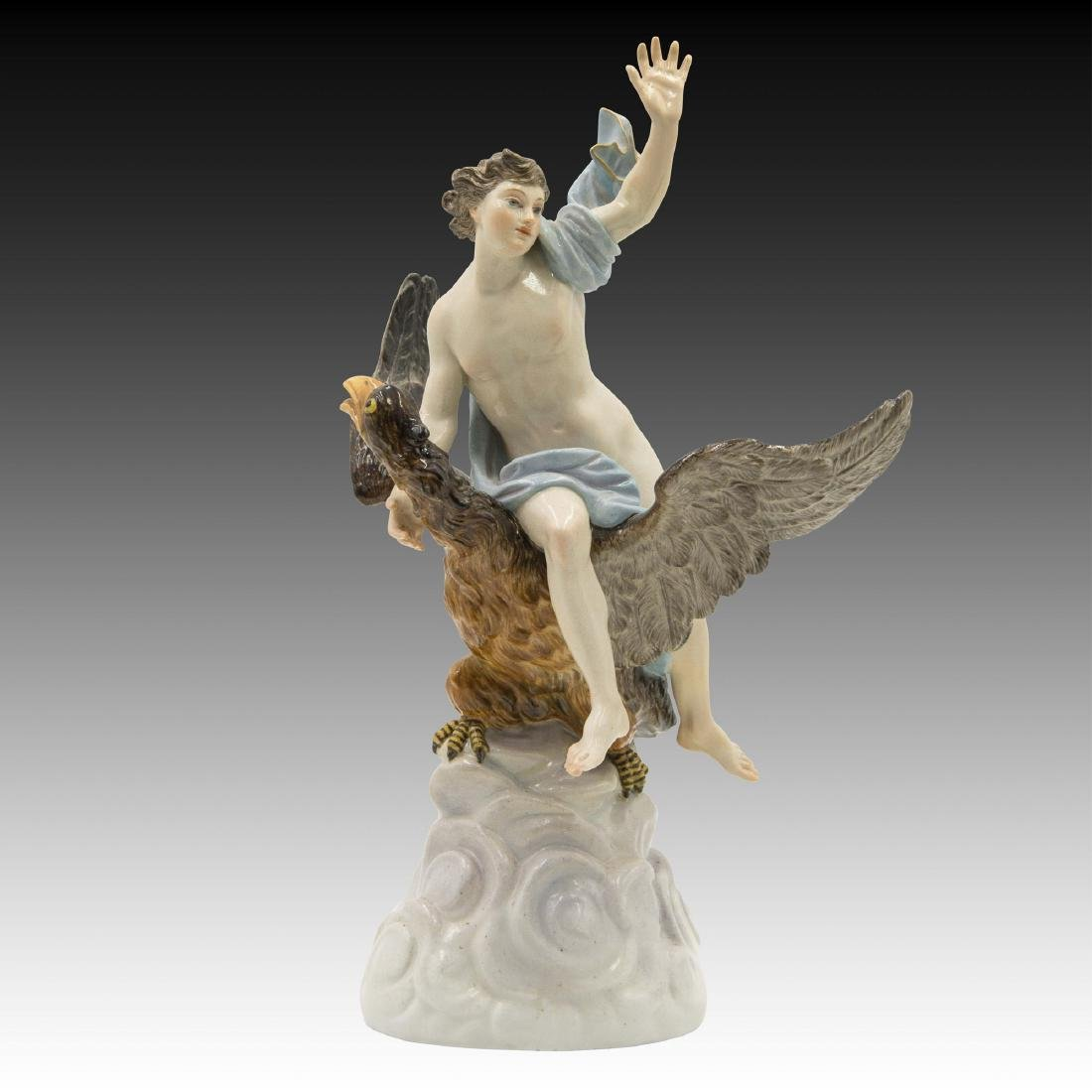 Meissen The Robbery of Ganymede Figurine Statue