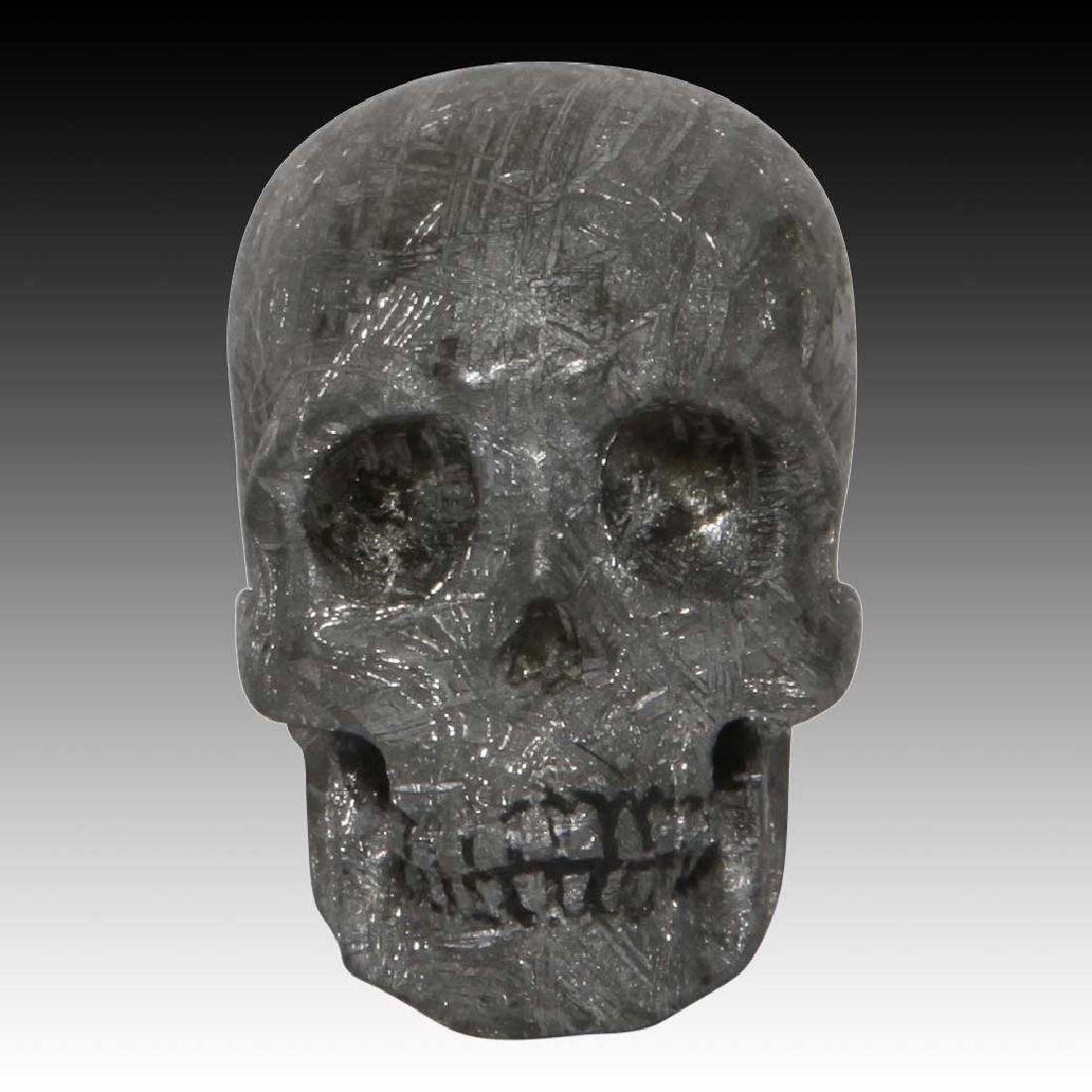 Skull Carved from the Gibeon Meteorite, Lee Downey