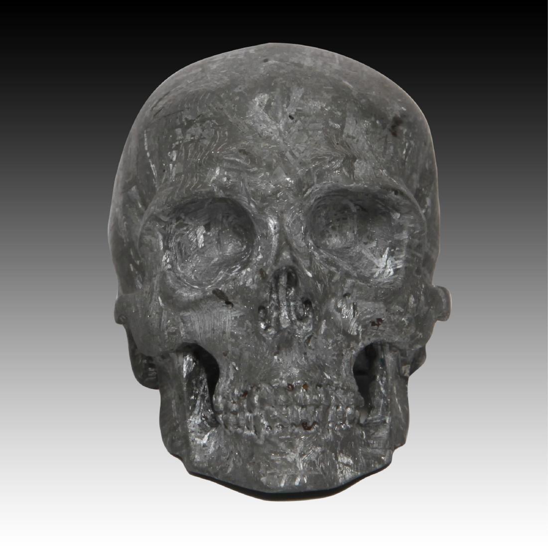 Gibeon Meteorite Skull by Lee Downey