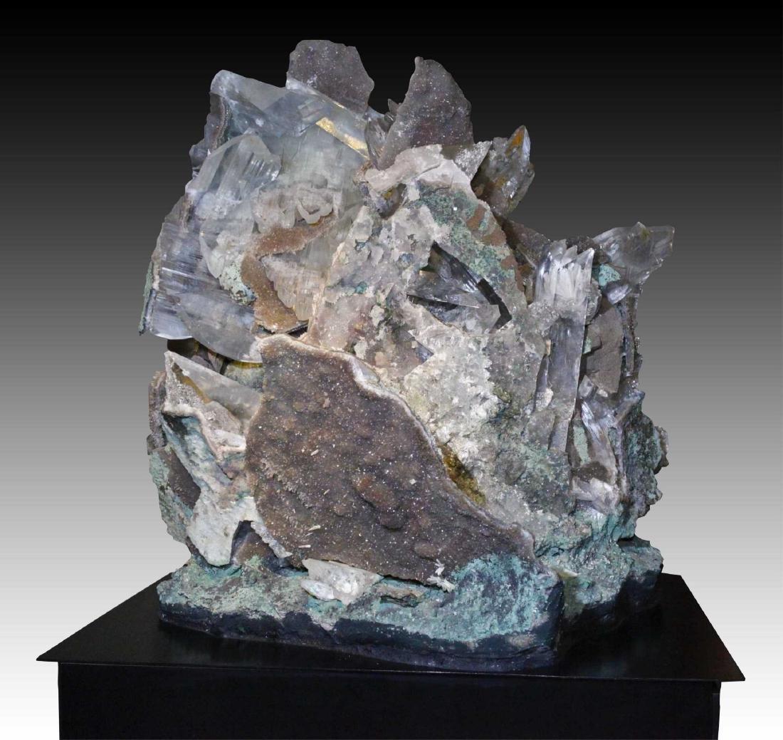 Large Selenite Crystal Matrix