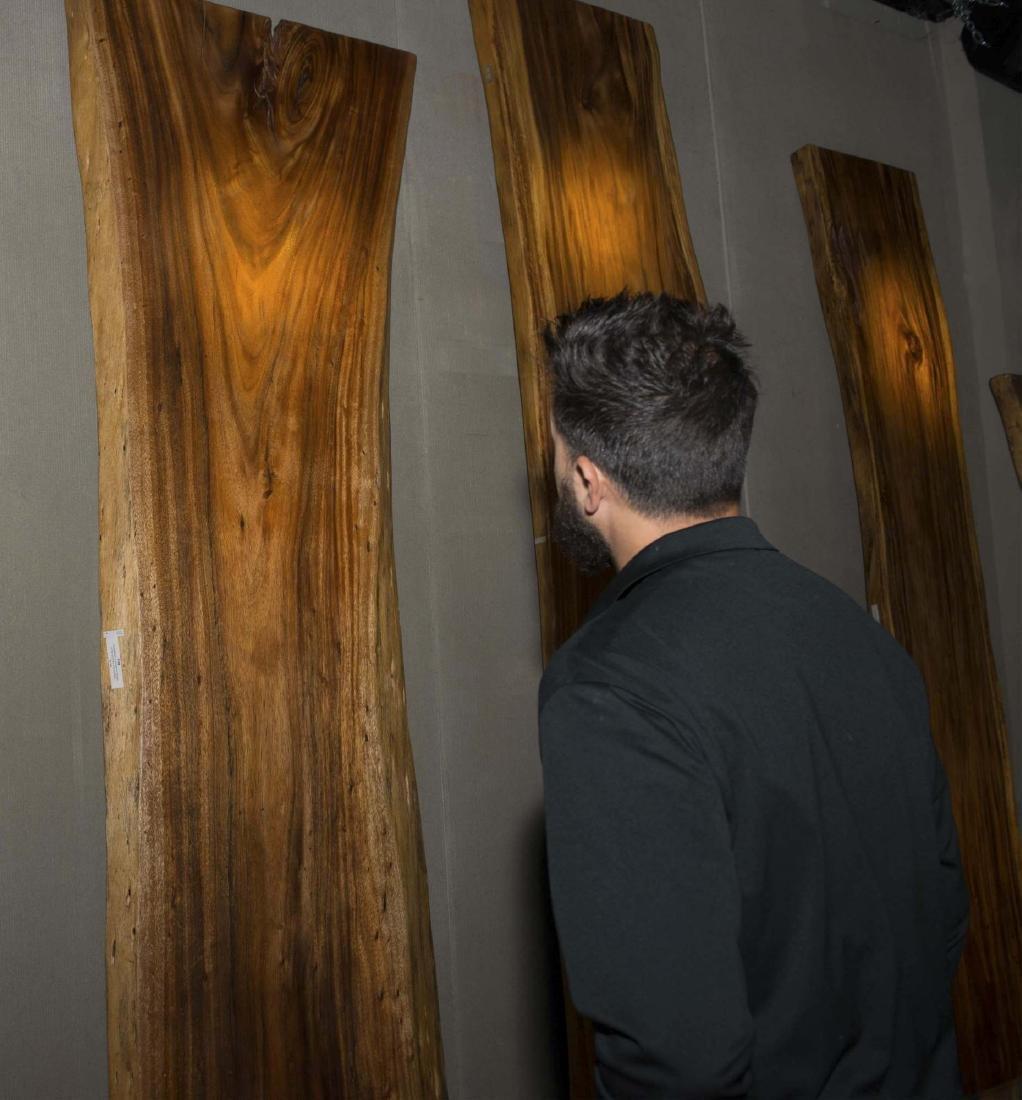 Natural Edge Orejero Wood Slab - 2