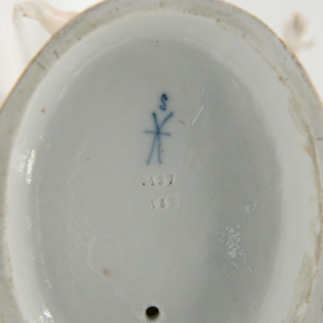 Samson French Porcelain Semi Nude Group Figurine - 4