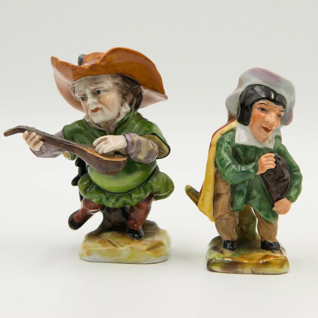 Capodimonte Porcelain Group of 4 Gnomes Dwarfs - 3