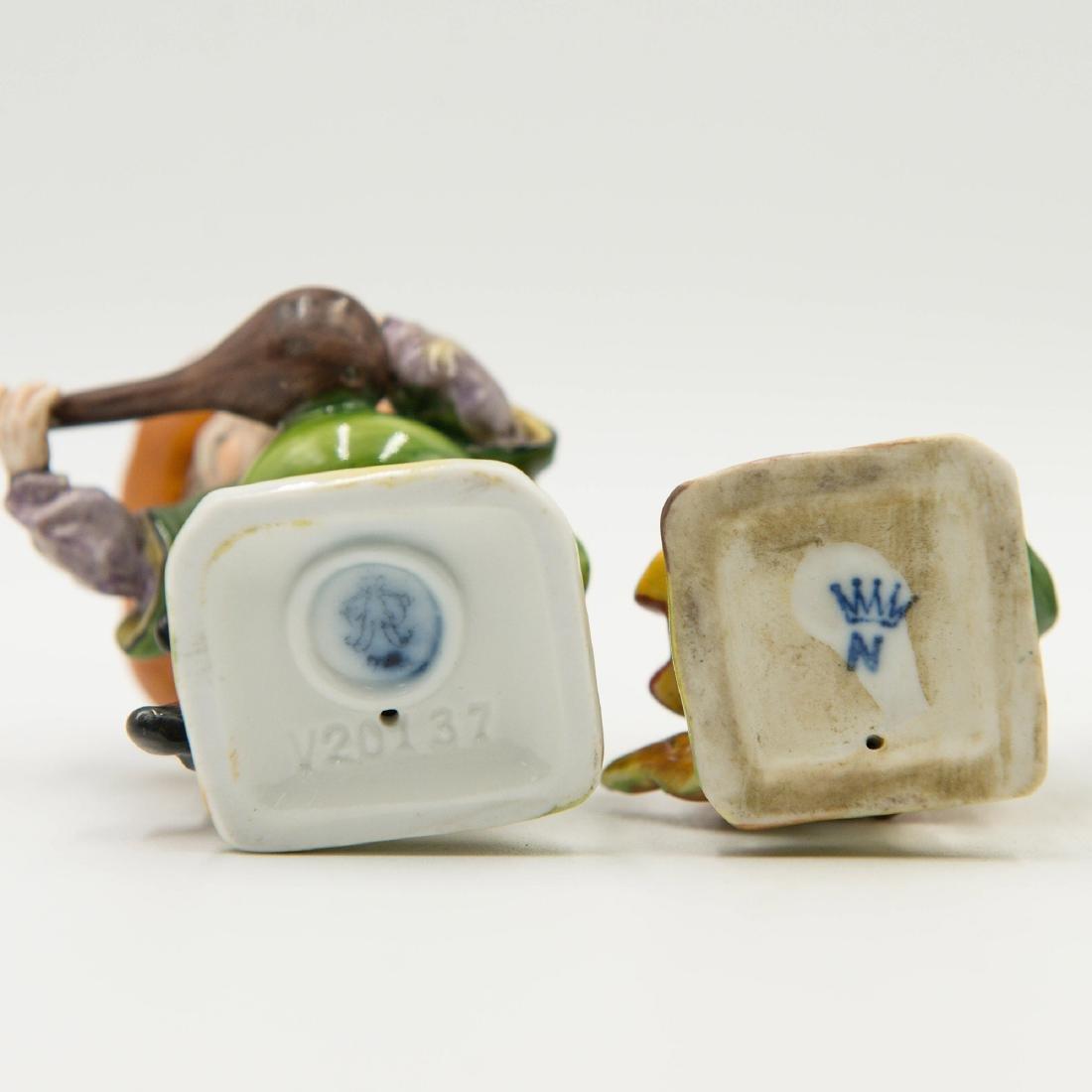 Capodimonte Porcelain Group of 4 Gnomes Dwarfs - 6