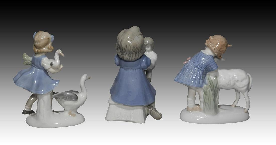 Group of 10 German GDR Porcelain Figurines of Kids - 5