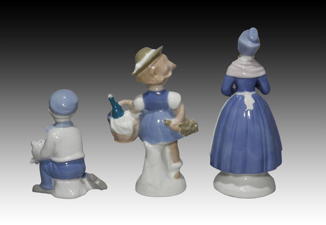 Group of 10 German GDR Porcelain Figurines of Kids - 9