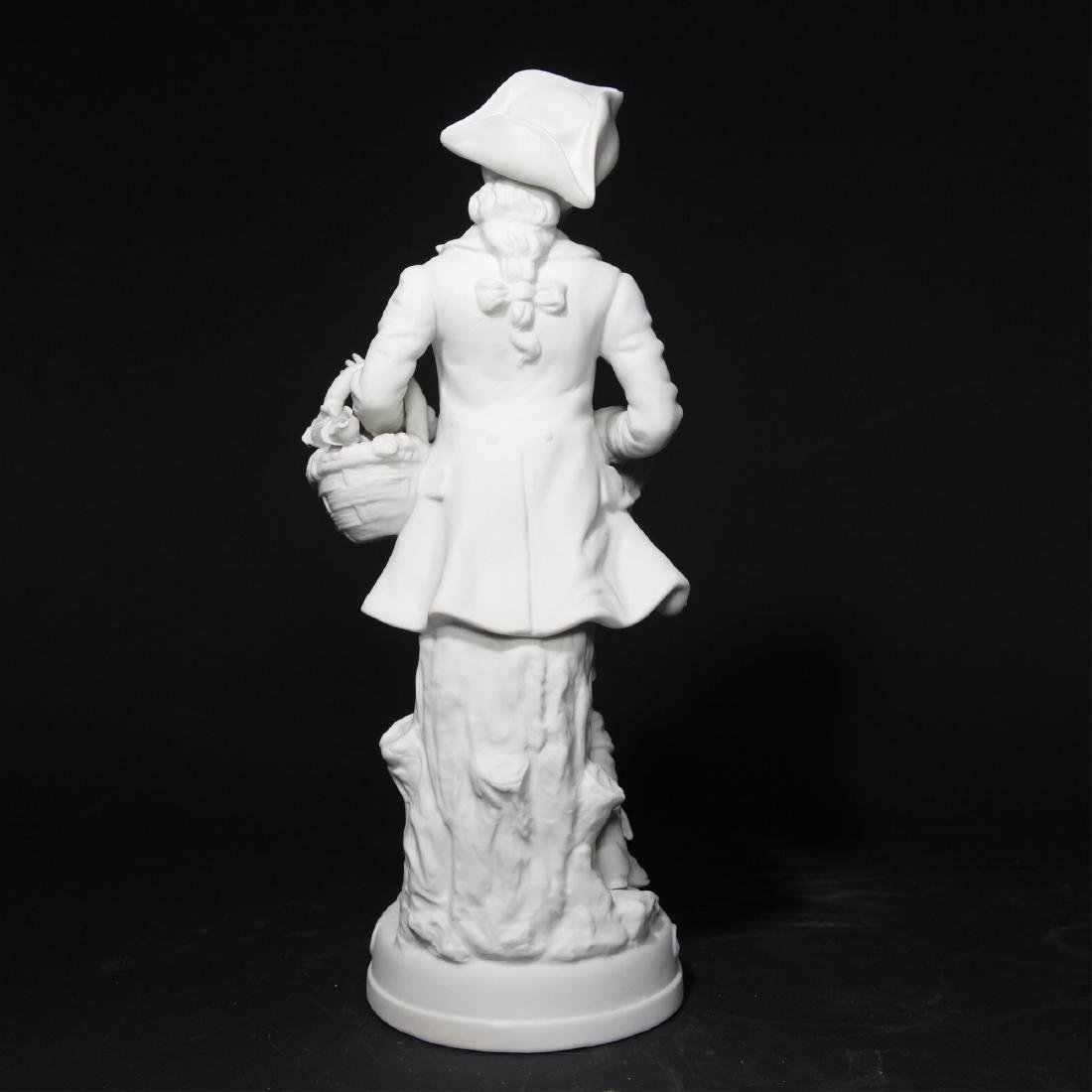 Bisque Porcelain Statue Sculptural Figurine - 2